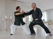 Meister Yang ZhenHe in der Lokomotion